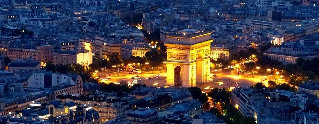 دروازه پیروزی پاریس