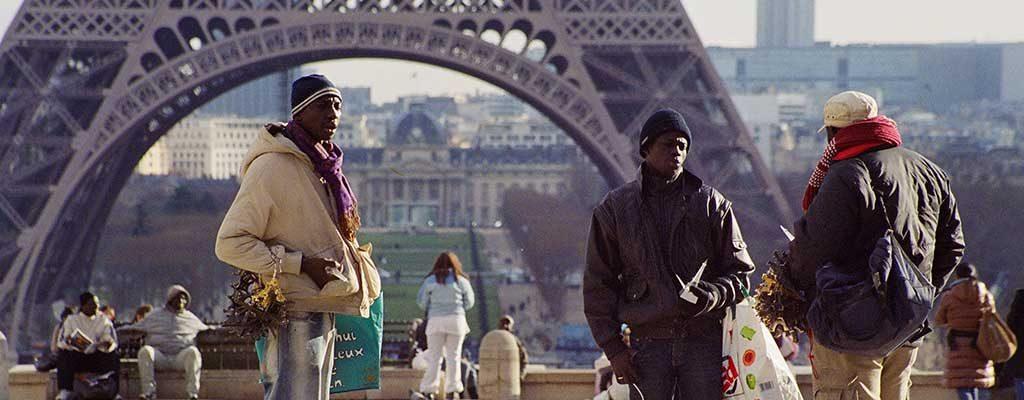 دستفروشان سیاهپوست