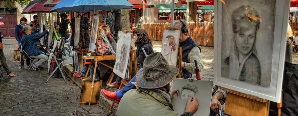 تپه هنرمندان پاریس