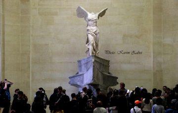 مجسمه پیروزی بالدار ساموتراس در موزه لوور
