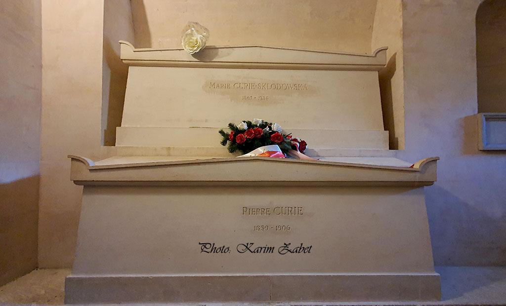 مقبره پیر کوری و مادام کوری در پانتئون پاریس