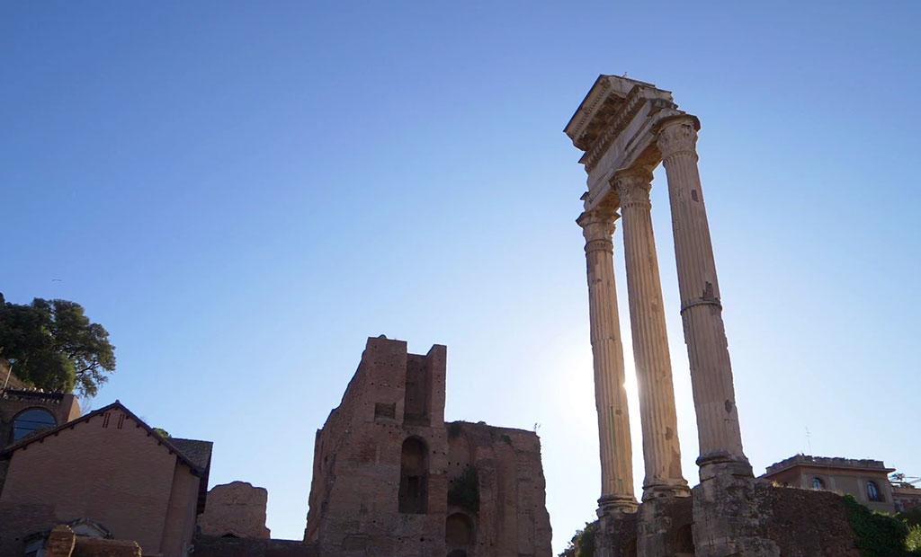 ستون های معبد کستور و پولوکس