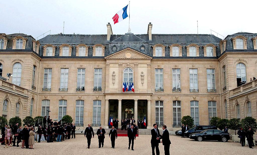 کاخ الیزه محل زندگی و کار رئیس جمهور فرانسه