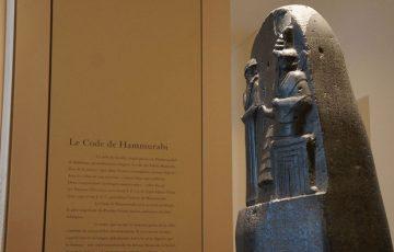 قانون حمورابی در موزه لوور