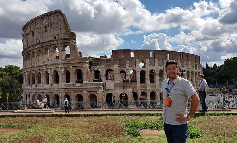 کولوسئوم رم شاهکار معماری روم باستان