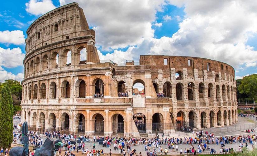 آمفی تئاتر فلاویان یا کولوسئوم معروف ترین جاذبه گردشگری شهر رم