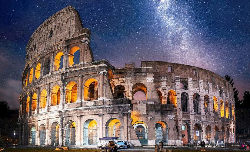 کولوسئوم، نماد شهر رم