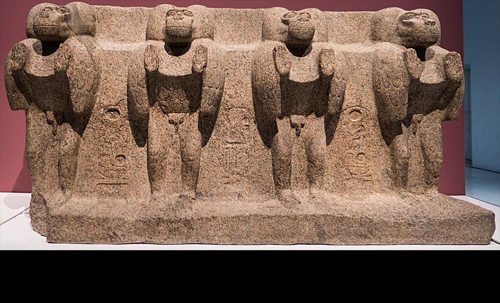 پایه سنگی اصلی ابلیسک میدان کنکورد در موزه لوور