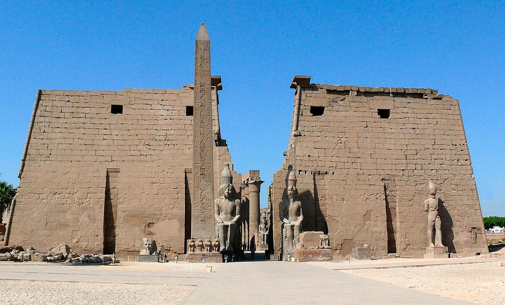 معبد لوکسور یا الاقصر مصر