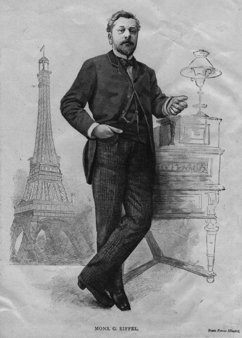 گوستاو ایفل قبل از ساخت برج ایفل نیز مهندسی معروف و ثروتمند بود. اگر چه بعد از ساخت ایفل، شهرت برج بیشتر از خود آقای ایفل شد!