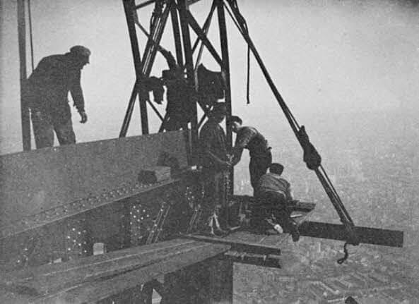 عکس های قدیمی از زمان ساخت برج ایفل در سال 1889