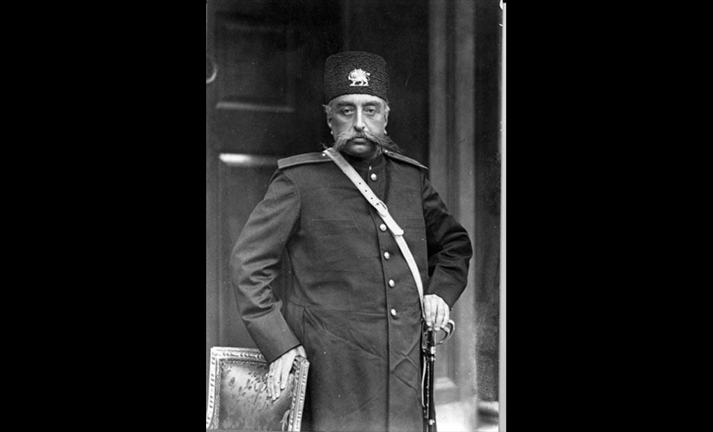 مظفرالدین شاه قاجار که از ترسش هرگز از برج ایفل بالا نرفت!