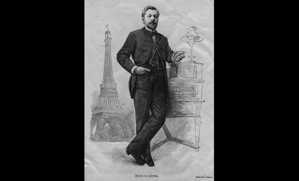 گوستاو ایفل طراح برج ایفل پاریس
