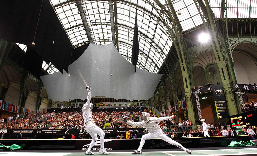 مسابقات جهانی شمشیربازی 2010 در گراند پله پاریس