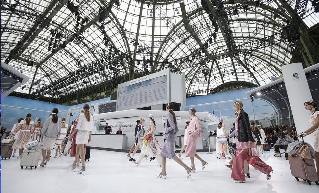 نمایشگاه فشن در گراند پله پاریس