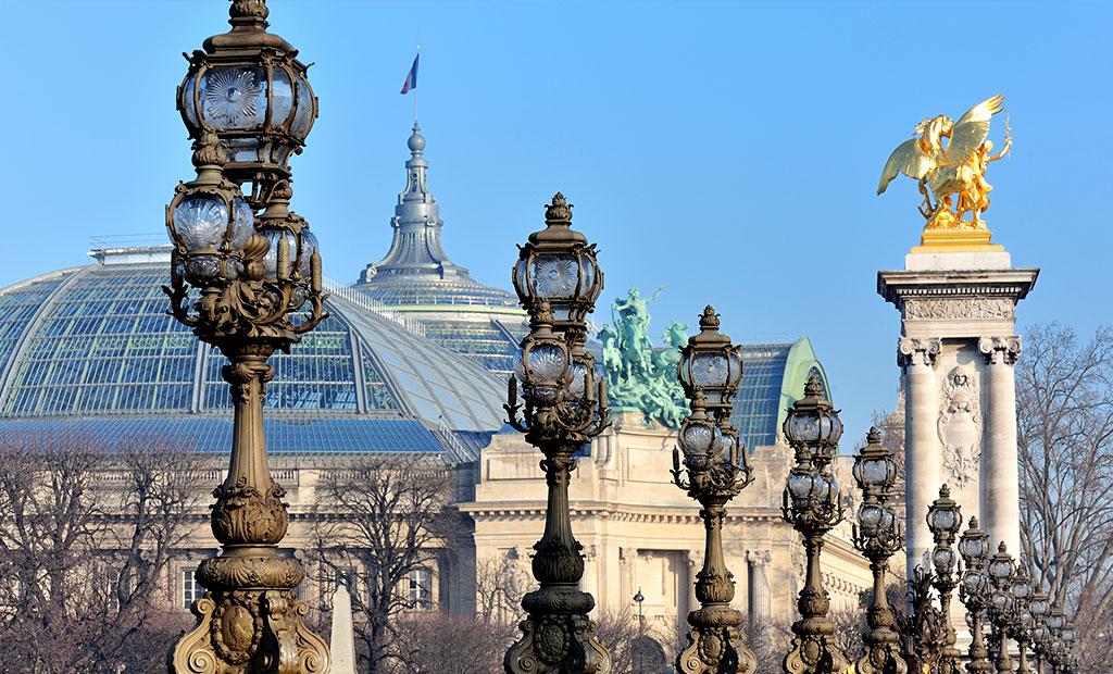سقف شیشه ای گراند پله پاریس