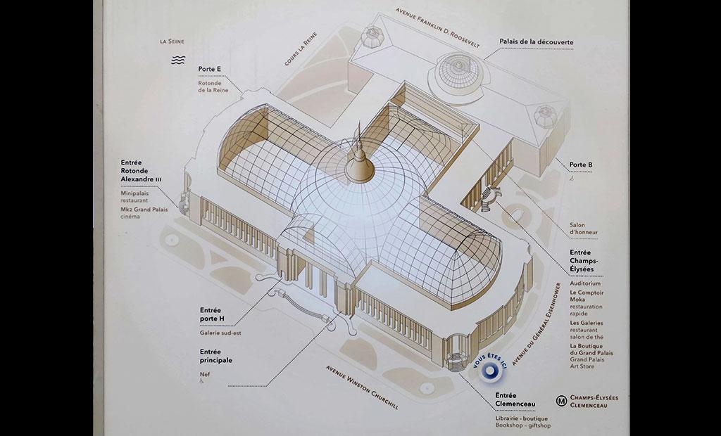 نقشه گراند پله پاریس
