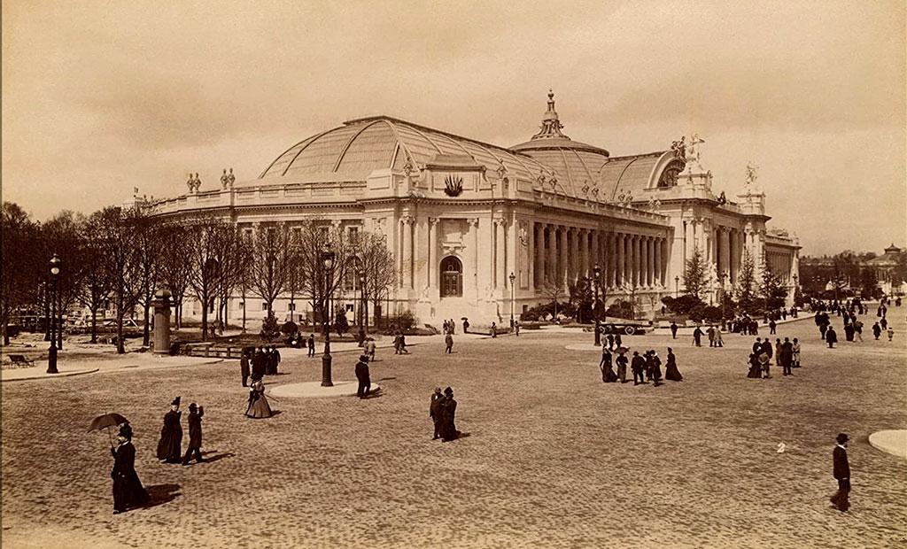 عکس قدیمی از گراند پله یا قصر بزرگ پاریس