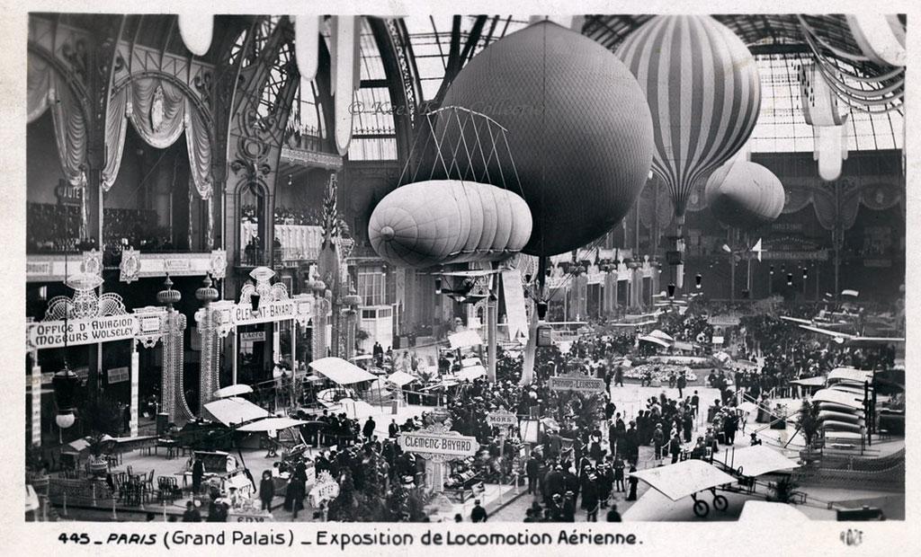 نمایشگاه هوانوردی در گراند پله پاریس