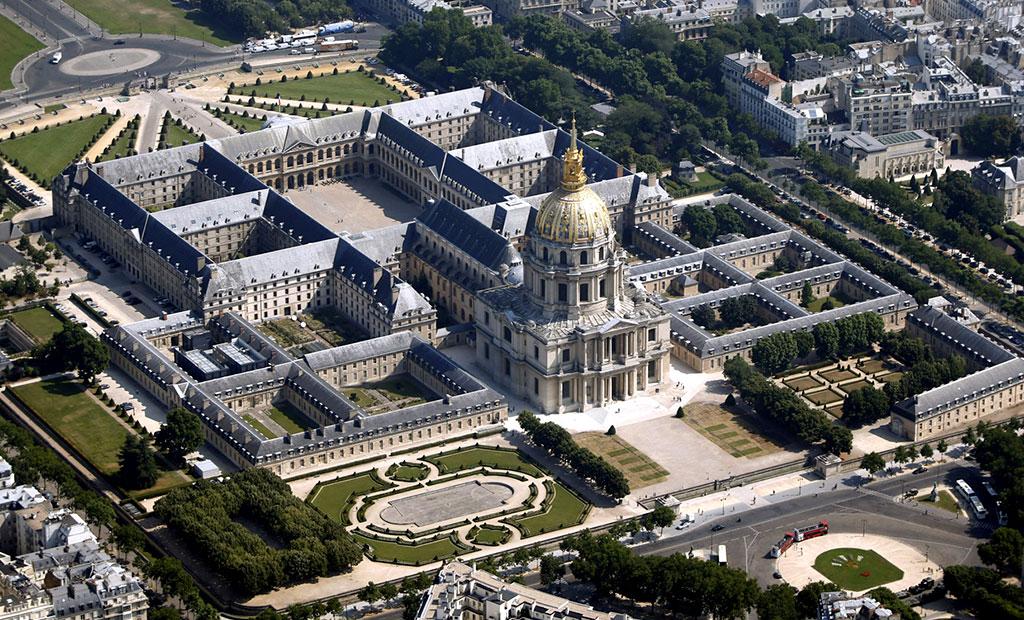 عمارت انولید پاریس