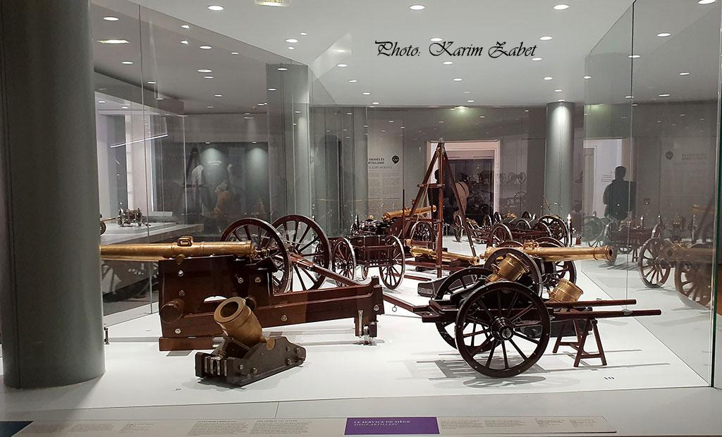 موزه ارتش در هتل انولید پاریس