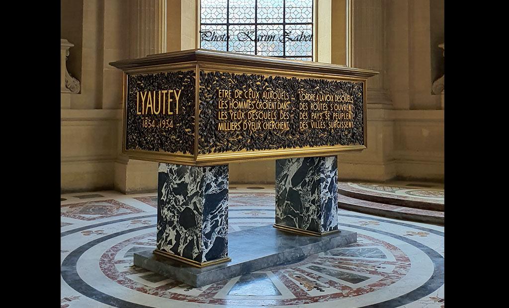 مقبره Hubert Lyautey مارشال فرانسه در انولید
