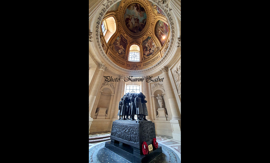 مقبره ژنرال فوش در انولید پاریس