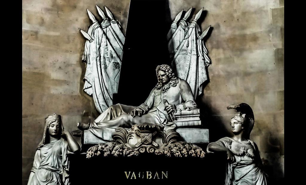 مقبره ووبان در کلیسای گنبد انولید