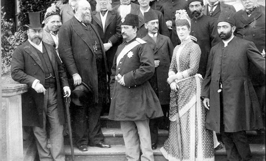 ناصرالدین شاه قاجار در سفر اروپا