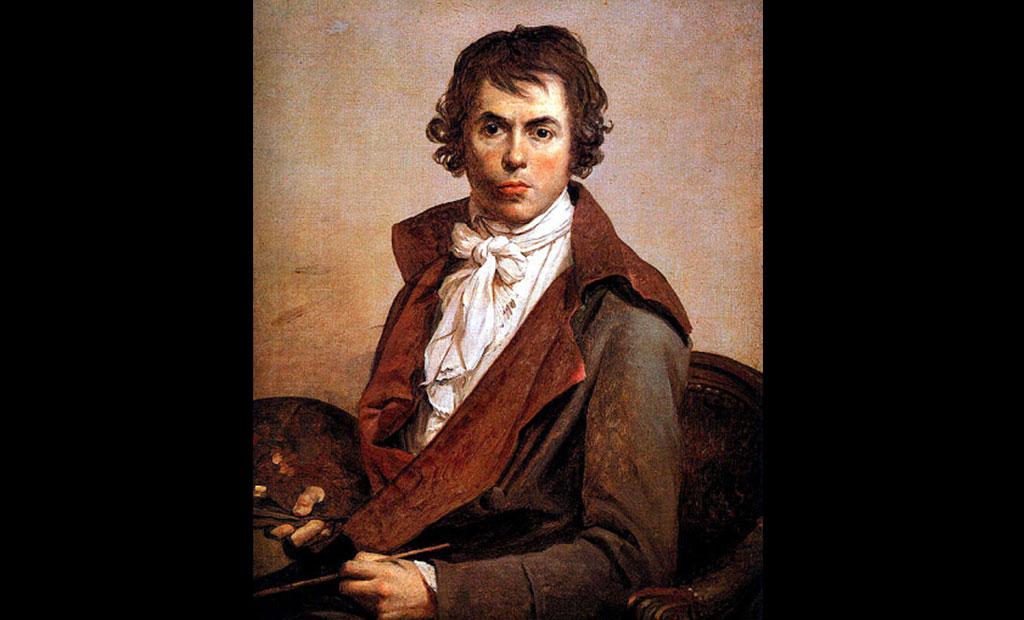 پرتره ژاک لوئی دیوید نقاش برجسته فرانسوی