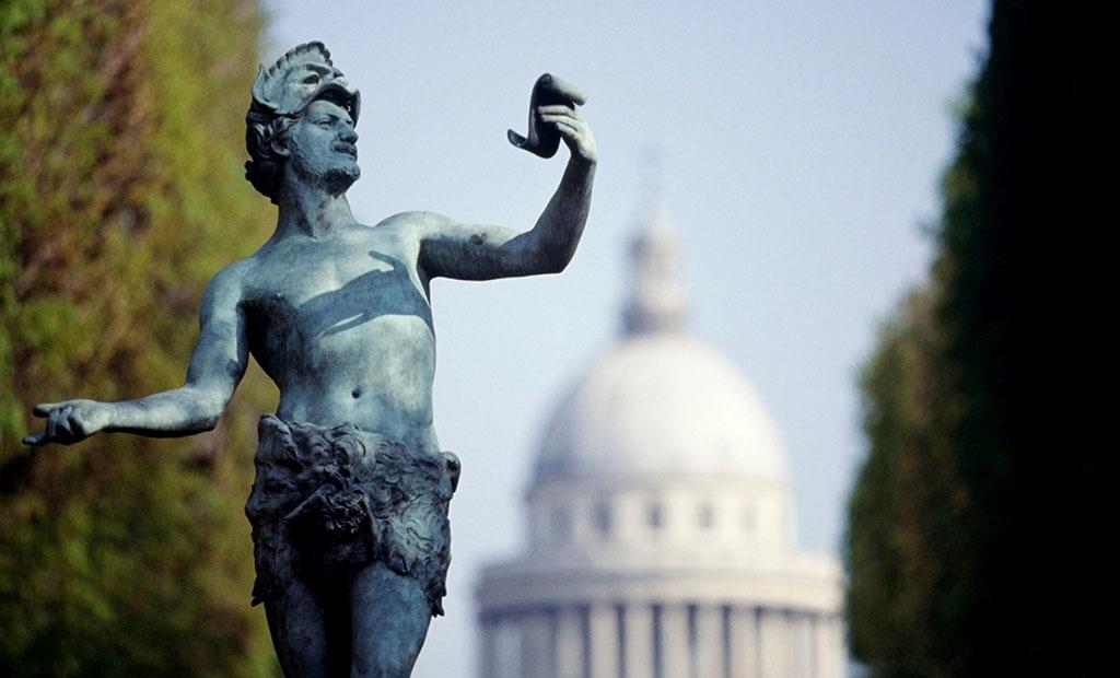 مجسمه های باغ لوگزامبورگ پاریس