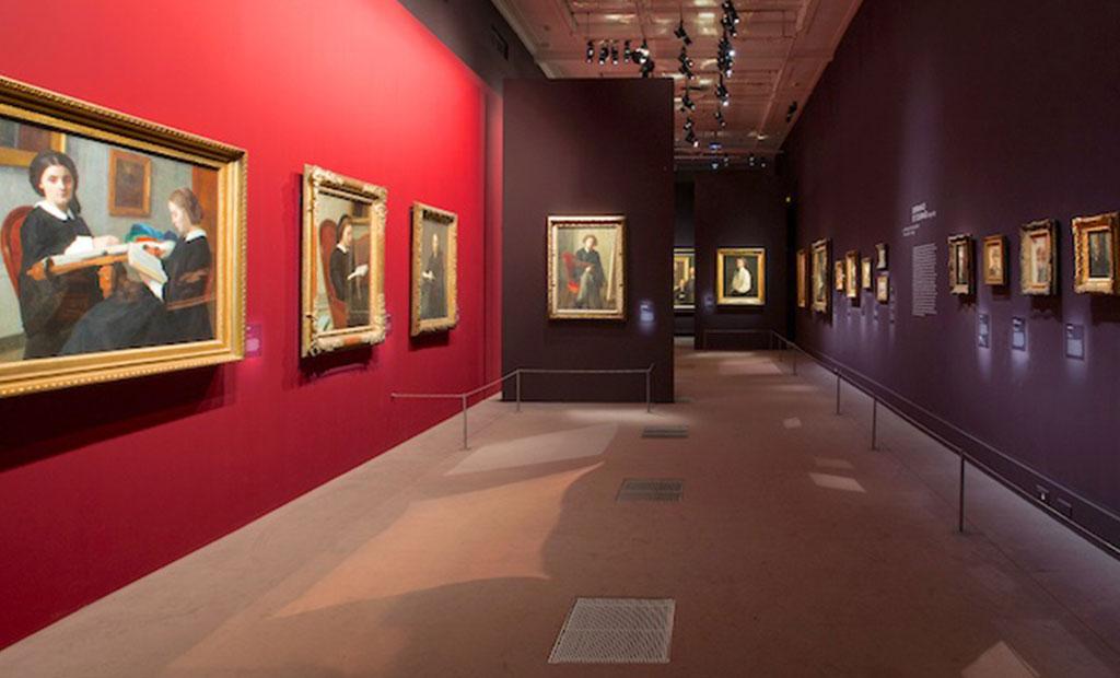 نمایشگاه آثار هنری در موزه لوگزامبورگ پاریس
