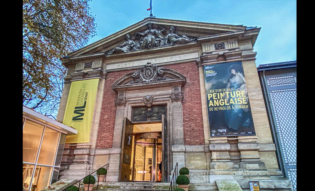 ورودی موزه لوگزامبورگ پاریس