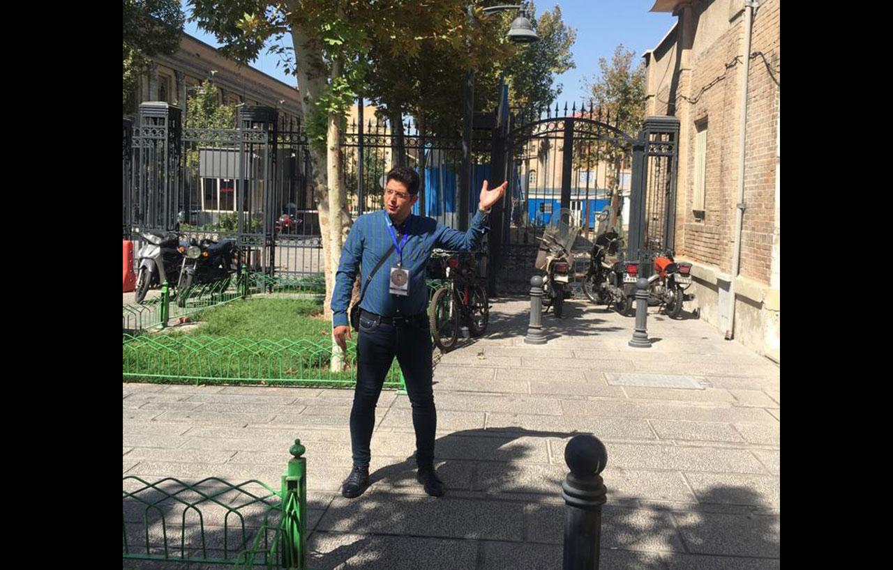 موزه گمرک ایران در میدان مشق تهران قدیم