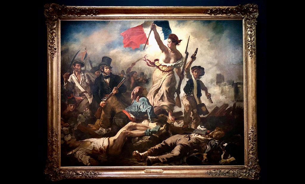 تابلوی نقاشی آزادی هدایتگر مردم