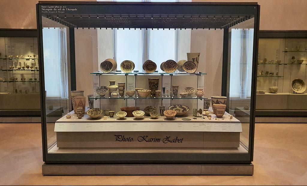 سفالهای منقوش ایران در موزه لوور پاریس