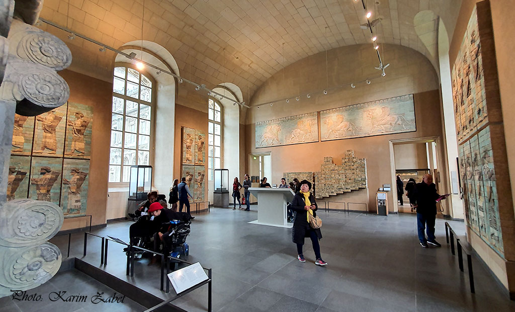 تالار هخامنشیان در موزه لوور پاریس