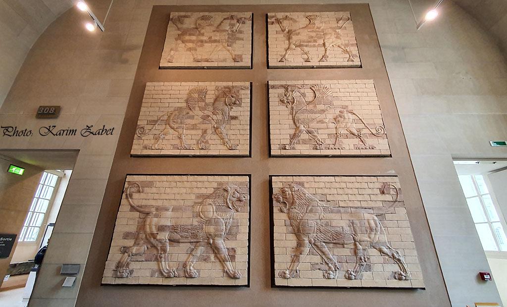 قابهای تزئینی حیوانات اساطیری - موزه لوور پاریس