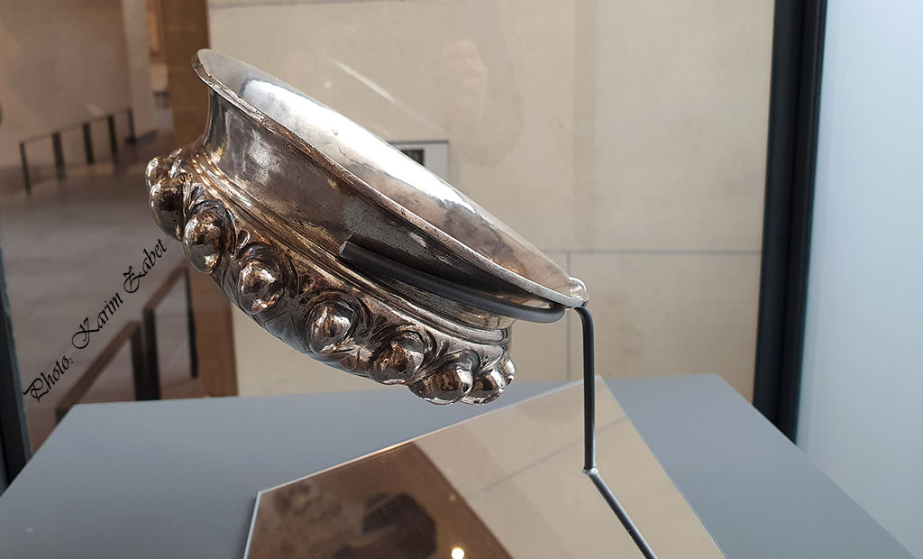 جام نقره هخامنشی - موزه لوور پاریس