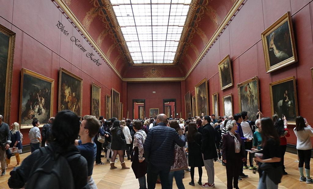 گالری نقاشی های فرانسوی در موزه لوور