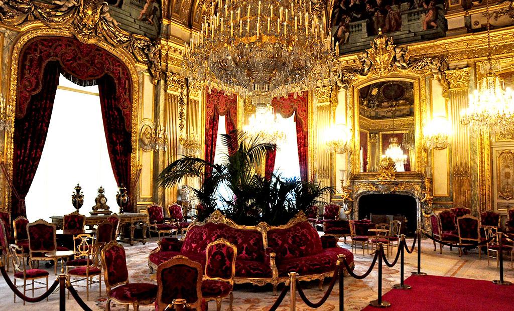 آپارتمان ناپلئون سوم در موزه لوور