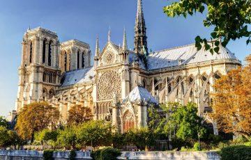 کلیسای نوتردام پاریس، معروف ترین کلیسای جامع در جهان