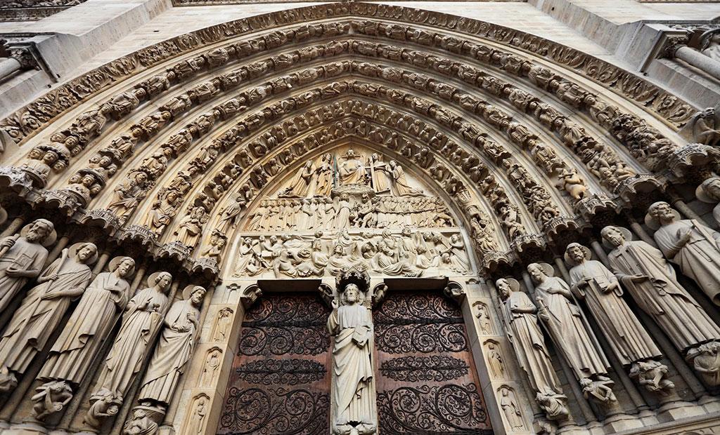 درگاه قضاوت نهایی - کلیسای جامع نوتردام پاریس