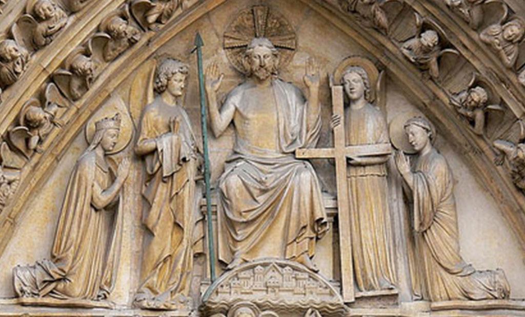 نقش برجسته قضاوت نهایی کلیسای نوتردام