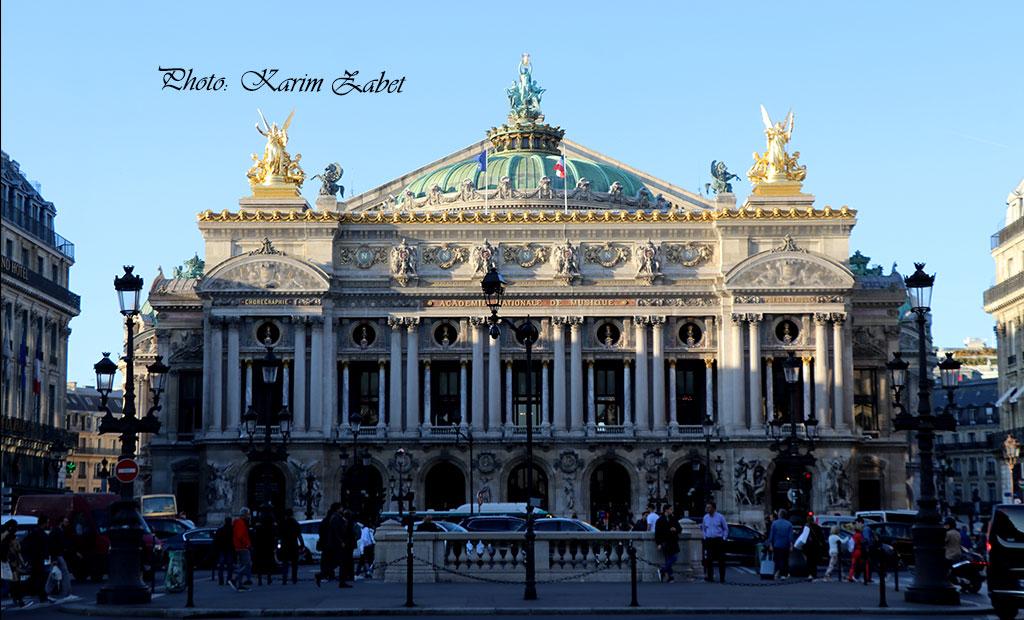 نمای اصلی اپرا گارنیه پاریس