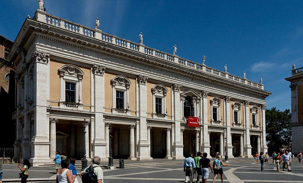 کاخ نوئووو در میدان کاپیتولین شهر رم