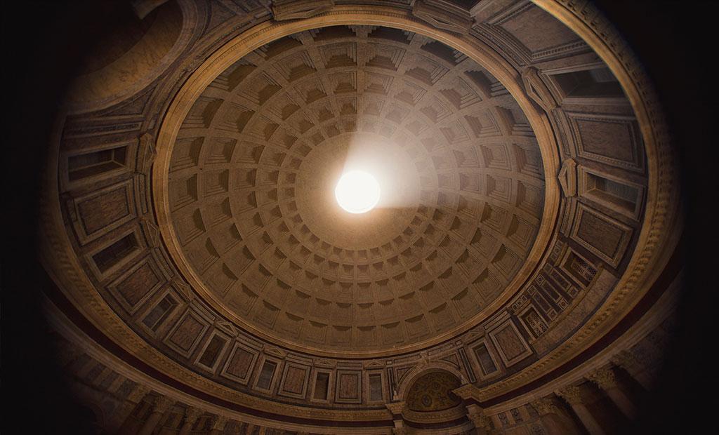 آکولوس تامین کننده نور معبد پانتئون