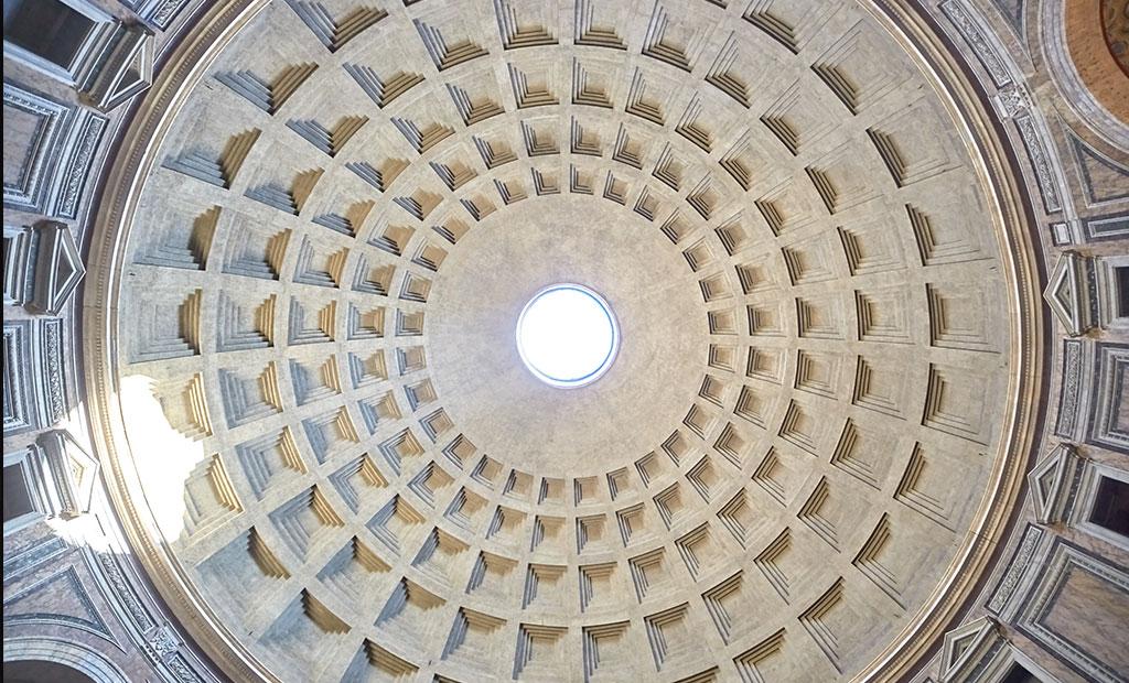 گنبد معبد پانتئون رم