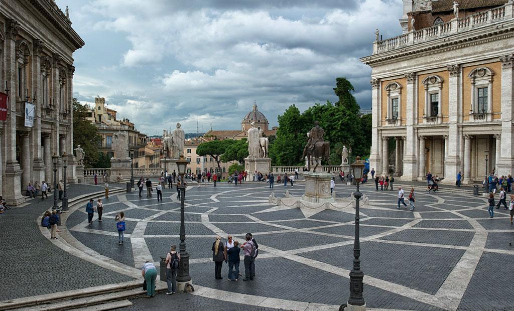 میدان کاپیتولین شهر رم