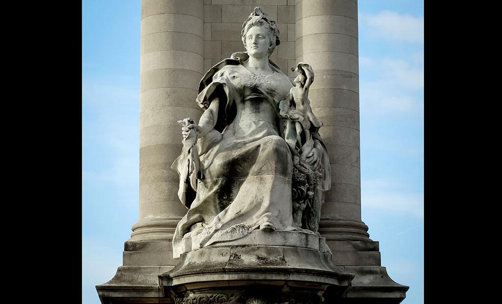 مجسمه فرانسه در دوران معاصر